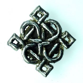 Chunk aus antique pewter, celtic style